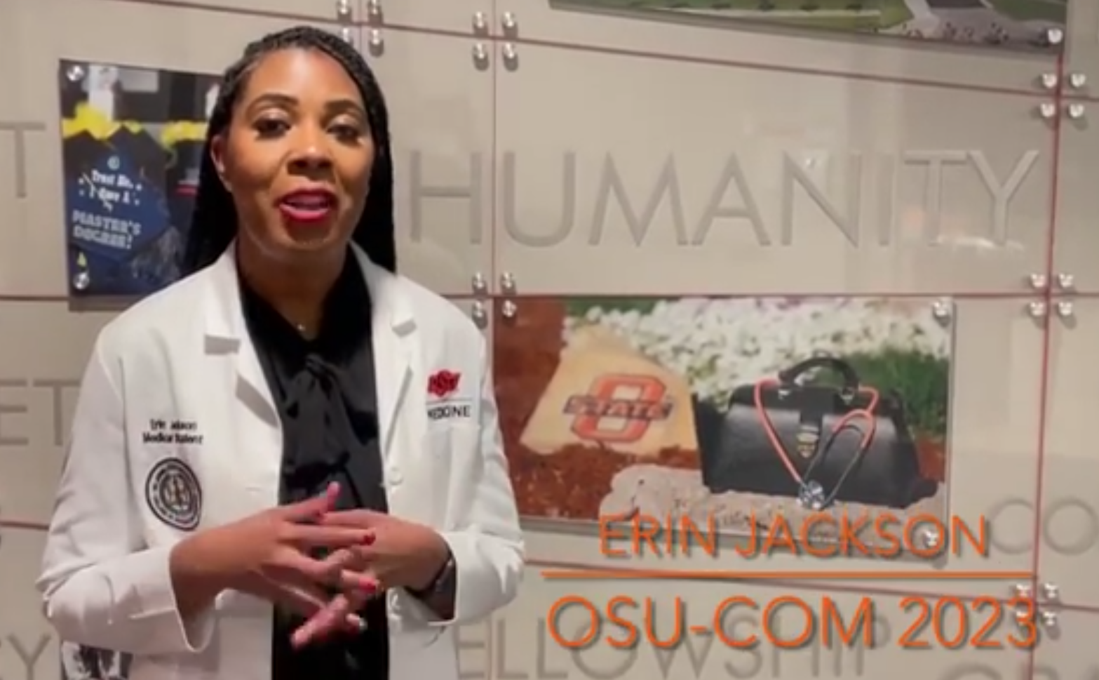 You are currently viewing Cohort 5 Fellow Erin Jackson receives Tulsa Osteopathic Medical Society Scholarship, highlights Schweitzer Fellowship in video